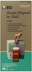 New Bd Sharps Disposal By Mail Worry Free Needle Disposal Free2dayship Taxfree