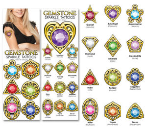 Sticker Flat Vending Machine Capsule Toys Gemstone Sparkle Tattoos