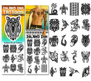 Sticker Flat Vending Machine Capsule Toys Island Ink Tattoos