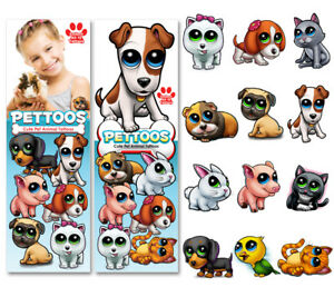 Sticker Flat Vending Machine Capsule Toys Pettoos Tattoos