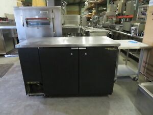 True Tbb 2 Back Bar Cooler Two Door 59 w Free Shipping