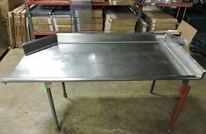 Commercial Stainless Steel Right Side Clean Dish Table