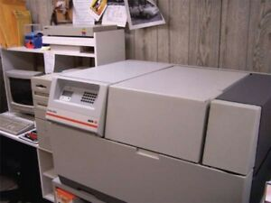 Agfa 9550 Prosetfilm Imagesetter For Parts Includes Cabinet And Extra Spin Motor