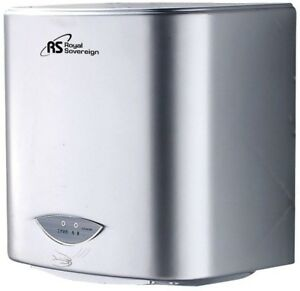 Touchless Electric Hand Dryer Powerful Air Nozzle Quick Dry Time Auto Sensor