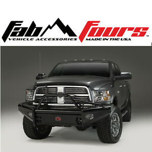 Fab Fours Pre Runner Ranch Hd Front Bumper Fits 2010 2018 Dodge Ram 2500 3500