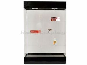Acrylic Display Tower Case With Led Lights