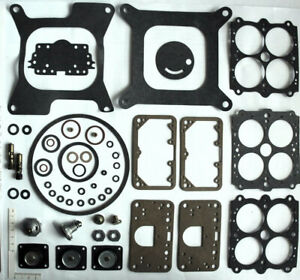 Carburetor Rebuild Kit Holley Double Pumper List 4776 600cfm Extra Pump More