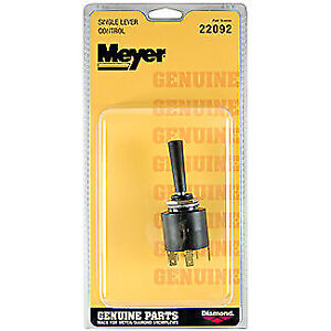 New Genuine Meyer Snow Plow Slick Control Lever Part 22092 22092c 22092sk