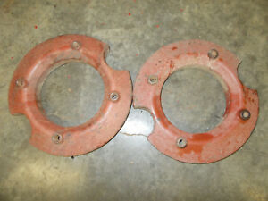 Farmall Ih 140 240 340 404 424 444 454 464 5574 Tractor Front Wheel Weight Set
