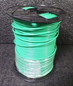 Green Machine Tool Wire 10awg 500 Max 600 Volts Stranded Copper E51583 m