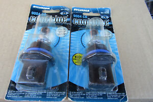 8 9004cb cool Blue Sylvania Halogen Head Lights 65 45 Watts 7 8 pst