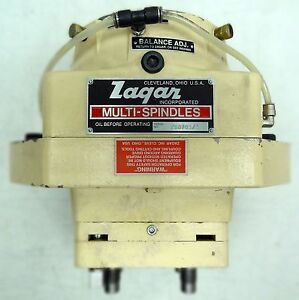 Zagar Gearless Drill Head W Bushing Pl 8 Square 400 Ser Multi 4 Spindle Head