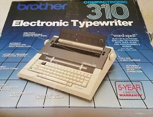 Brother Compactronic 310 Electronic Typewriter