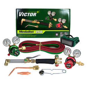 Victor 0384 2690 Medalist 350 540 510 Acetylene Cutting Torch Outfit