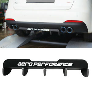 Rear Bumper Diffuser Lower Lid Cover Molding Aero Fit For Kia 2009 18 Cerato K3