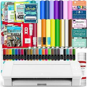 Vinyl Cutter Machine W Software Cutting Tool Sketch Pens Sticker Paper Books