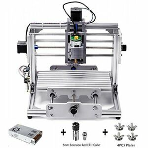 Cnc Router Kit Mini Milling Machine 24x17cm Grbl Control Wood Carving Engraving