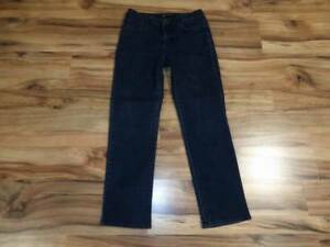 womans misses size 8p 8 petite jeans Lee classic fit pants