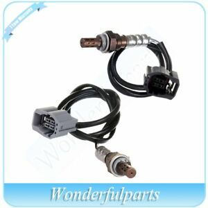 2x New Brand Upper Under Oxygen Sensor O2 02 For 2004 2005 Mazda 3 2 0l 2 3l