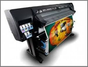 Hp L26500 61 Latex Printer Financing Plotter Car Wrap Banner Rip Software Ink