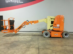 2004 Jlg E300ajp 500lb Non Marking Cushion Articulating Jib Plus Boom Lift