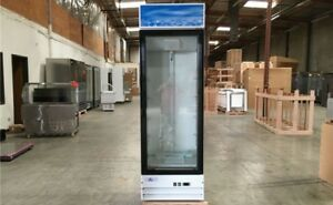 Nsf One Glass Door Commercial Flower Drink Dairy Cooler Refrigerator G398bmf