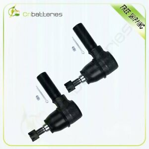 Both 2 Steering Parts Tie Rod Ends For 1995 04 Land Rover Discovery Es800783