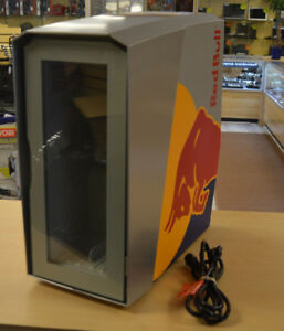 Red Bull Slim Countertop Eco Led Cooler Used For A Week Free Shipping