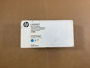 New Sealed Oem Hp Laserjet Cp3525 Cm3530 504a Ce251ac Cyan Same Day Shipping
