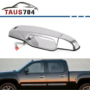 Chrome Outside Door Handle For 2007 2013 Chevy Gmc Cadillac Front Driv