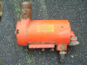 Vintage Allis Chalmers D 17 Tractor Air Cleaner As Is 1966