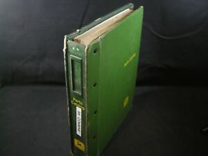 John Deere 95 Series Combine Self Propelled Parts Manual Book Sn 95 9001 Up Jd