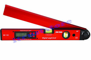 Long Digital Protractor Gauge Angle Finder Protracter Gage Level Tool