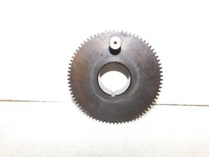 Vtg 9 Model C South Bend Metal Lathe Head Stock Bullgear Bull Gear