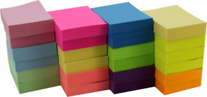 Post it Sticky Notes Memo Reminder Neon Colors 1 1 2 X 2 24 Pads 100 Sheets