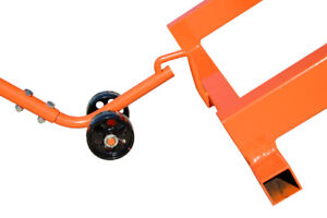 Titan Motorcycle Atv Lift Table Two Wheeled Dolly Accessory