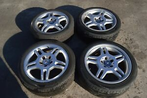 97 04 Mercedes C32 Slk230 Slk32 C320 Amg 17 By 7 5 Amg Wheels Rims