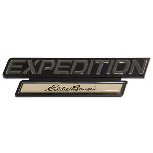 New Oem 1997 1998 Ford Expedition Eddie Bauer Emblem Nameplate F75z16720aa