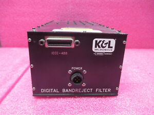 K l Microwave D5tnf 00046 50140 Band Reject Filter
