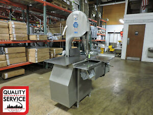 Biro 3334 16 Food Processing Commercial Deli Meat Band Saw 3 Ph 208 230v