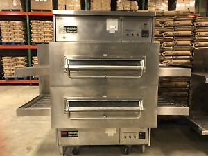Middleby Marshall Ps360 Doublestack Gas Conveyor Pizza Ovens