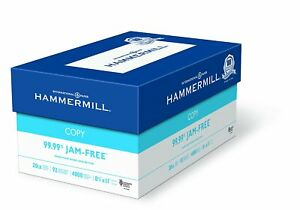 Hammermill Paper Copy Paper 8 5x11 Letter 92 Bright 4000 Sheets 8 Ream Case new