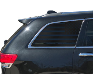 Usa Flag Decals Rear Windows Fits 2011 2019 Jeep Grand Cherokee Side Quarter Wk2