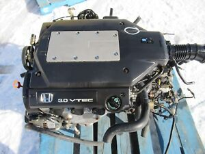 Jdm 97 02 Honda Accord Acura Cl 3 0l V6 Sohc J30a Engine Automatic Transmission