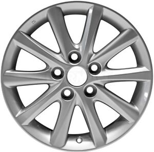 Fits 2010 2011 Toyota Camry 16 X 6 5 Grey Painted 10 Spoke Alloy Wheel