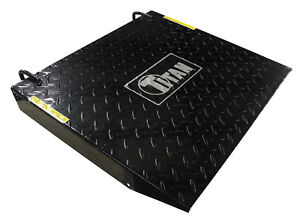 Titan 1000d Motorcycle Atv Lift Table Add On Accessory Rear Ramp Attachment