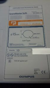 Olympus Sd 240u 15 Disposable Electrosurgical Snare