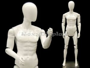 Male Mannequin With Flexible Head Arms Fingers And Legs