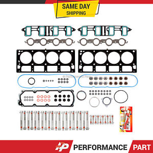 Head Gasket Bolts Set For 07 11 Gmc Chevrolet 6 0 Cadillac 6 2 Ohv Vin K G 2