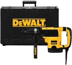 Dewalt Sds max Corded Hammer Drill 13 5 amp Motor Delivers Maximum Performance